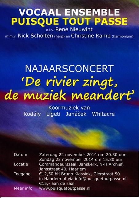 2014 De rivier zingt, de muziek meandert
